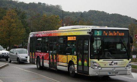 Suite à des caillassages, les bus L'Va ne desserviront plus le Plan des Aures à Pont-Evêque à partir de jeudi