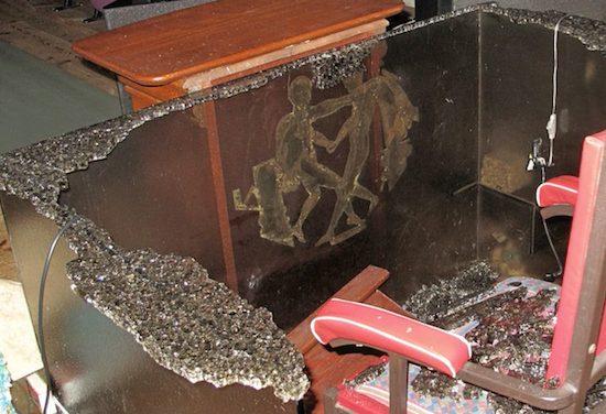 Le Temple maçonnique du Grand Orient de France à Vienne vandalisé