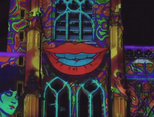 1ères images de la cathédrale mise en lumière, la Ville qui se pare de ses atours de Noël, etc. : le Journal TV  de Vienne