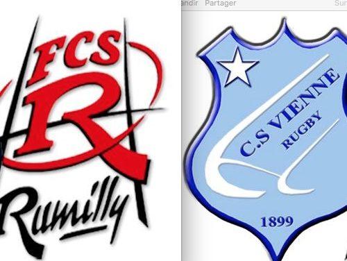 Rugby : malgré un beau sursaut, les Viennois défaits par Rumilly
