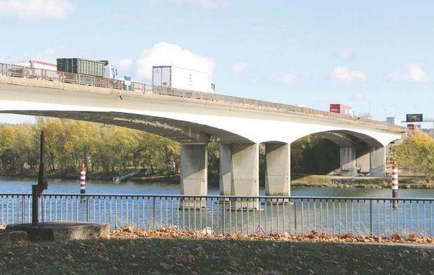 Vers un nouveau pont sur le Rhône à Givors : début des travaux programmé en 2024…