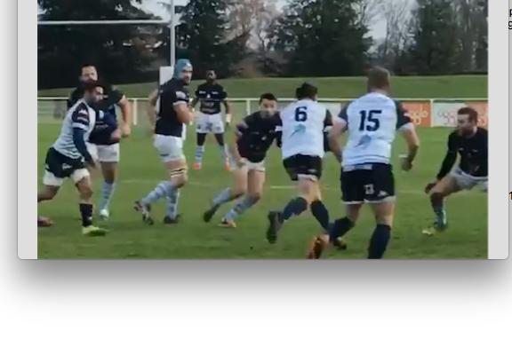 Rugby : le derby Vienne/Villefranche tourne en faveur des Caladois