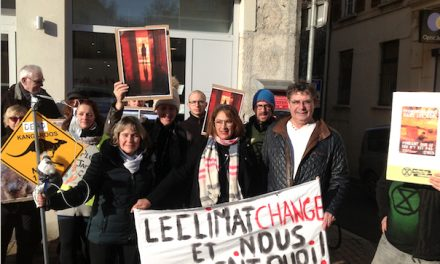 Incendies monstres : manifestation de soutien à Vienne faveur de la population australienne