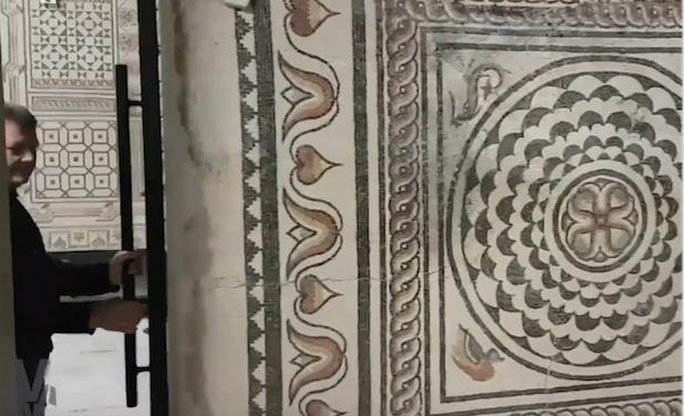Restauration des mosaïques du «petit Pompéi», polar viennois, le nouveau caveau Guigal, etc. : le Journal TV  de la semaine à Vienne