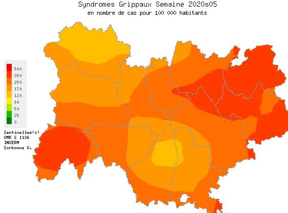 Auvergne-Rhône-Alpes en phase épidémique : l'activité grippale en forte augmentation