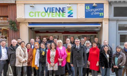Municipales Vienne 2020-La liste «Vienne Citoyenne» menée par Erwann Binet présentée au complet