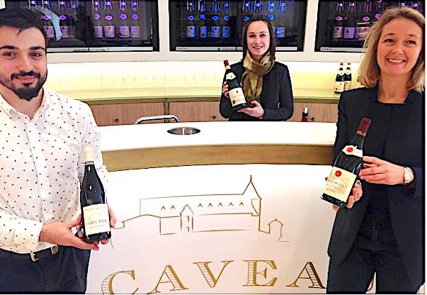 Un futur haut-lieu du tourisme œnologique signé Guigal est né à Ampuis : le Caveau du Château qui n'attend plus que son musée…