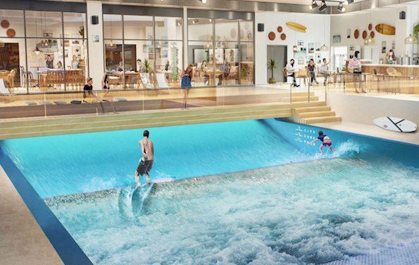 A destination des surfers : le Groupama Stadium  de l'OL  à Décines va s'offrir la plus grande vague artificielle d'Europe
