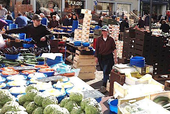 Il y aura bien un marché samedi matin dans le centre de Vienne, mais il sera réduit et réorganisé