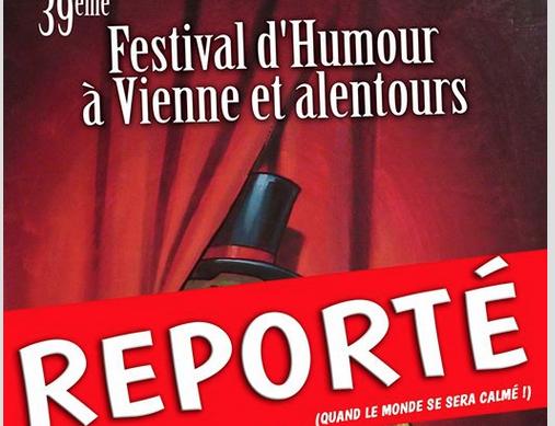 Coronavirus : le Festival d'Humour de la MJC de Vienne, reporté ; l'avant-1ère aux Amphi avec Michèle Laroque annulée