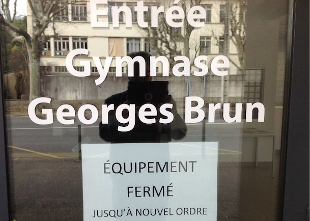Vienne : tous les équipements sportifs privés et publics, fermés