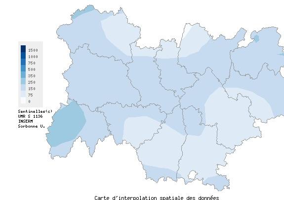 Le nombre de consultations liées au Covid-19  chez les médecins ralentit nettement en Auvergne-Rhône-Alpes