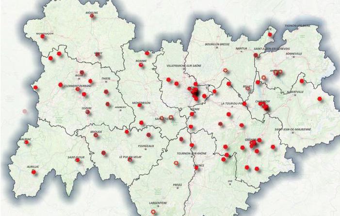 Ouverture de centres de soins spécialisés Covid-19 à Vienne et à Bourgoin : il y en aura 90 dans la Région