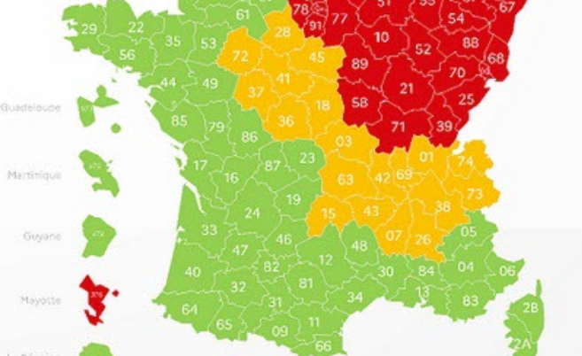L'Isère, toujours en orange, mais la décrue s'accentue dans les hôpitaux d'Auvergne-Rhône-Alpes