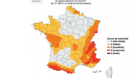 Un tremblement de terre ressenti hier en Isère