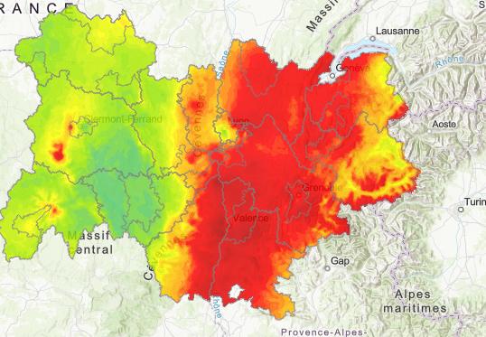 La pollution de l'air s'améliore globalement en Auvergne-Rhône-Ales, sauf pour l'ozone : le Rhône et l'Isère très touchés