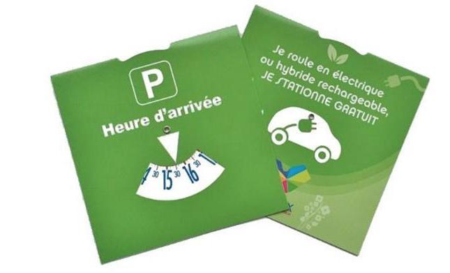 Gratuité du stationnement  à Vienne pour les véhicules écologiques : le disque vert prolongé d'un an