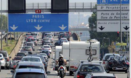 Premiers départs en vacances :  l'A7 et la Vallée du Rhône en orange