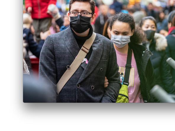 Voici la liste des lieux publics clos où à partir d'aujourd'hui le masque est obligatoire