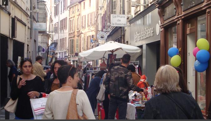 """Un nombre record de commerçants participants pour la """"Grande Braderie"""" de Vienne, les """"2J"""", vendredi et samedi"""