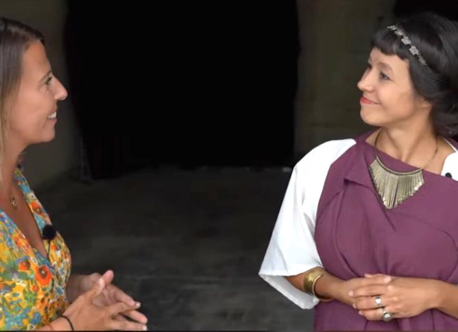 Loisirs-Quand Livie reçoit le vendredi dans son Temple viennois…