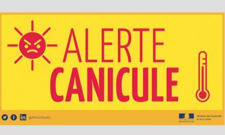 L'alerte canicule de niveau 3, prolongée dans le Rhône et l'Isère jusqu'à demain mercredi