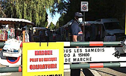 La mairie décrète le port du masque obligatoire sur les marchés de Bourgoin-Jallieu