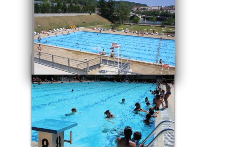 Les bassins extérieurs du stade nautique de St-Romain-en-Gal ouverts jusqu'au vendredi 11 septembre