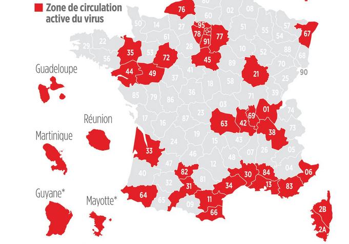 Covid-19 : l'Isère ce soir officiellement en rouge, de nouvelles mesures contraignantes attendues…