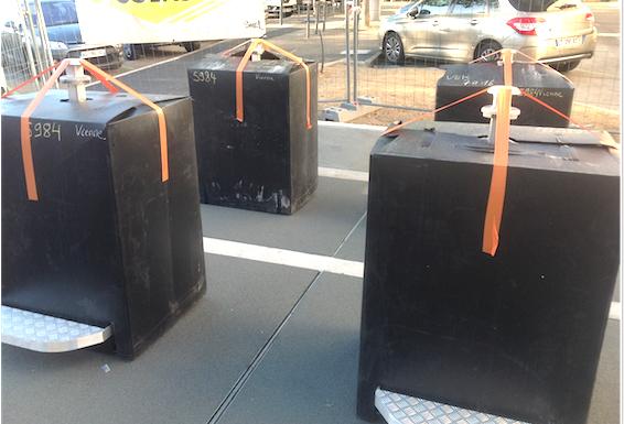 Sites de conteneurs enterrés à Vienne: et de douze!
