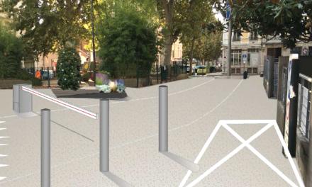 Réaménagement du boulevard de la République à Vienne : 2 scénarios avec ou sans barrière…