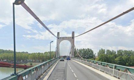 Pont de Condrieu, 8 300 véhicules/jour : circulation alternée début 2021, mais pas de travaux avant 2023…