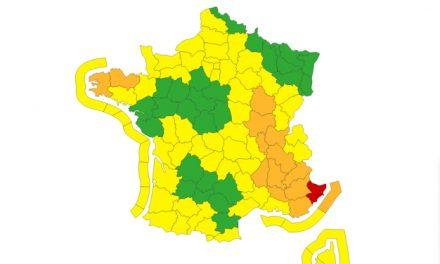 Tempête Alex : l'Isère et le Rhône placés en vigilance orange par Météo France, fortes pluies attendues