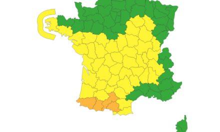 Météo :  alerte aux vents violents dans le Rhône et en Isère