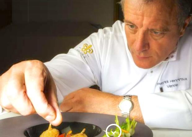Patrick Henriroux (La Pyramide) en or, le chef viennois distingué par Gault&Millau