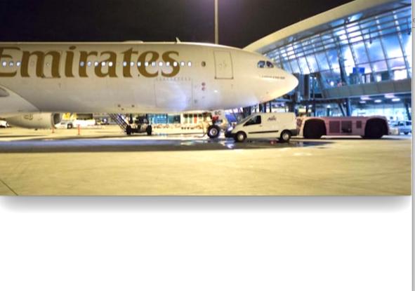 Reprise des vols Lyon-Dubaï à Lyon-Saint Exupéry, le 4 novembre