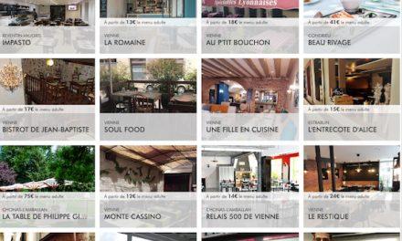 Un record : 27 restaurants de Vienne et des environs proposent des plats à emporter, à tous les prix