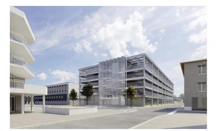 C'est parti : le futur parking de l'Espace Saint-Germain à Vienne aura 5 niveaux, 280 places et des panneaux photovoltaïques