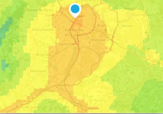 A Lyon et dans la vallée du Rhône : vigilance pollution aux particules activée cet après-midi