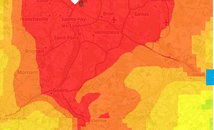 L'alerte à la pollution aux particules à Lyon et dans le Nord-Isère signe le retour des vignettes Crit'air