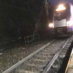 Suite au déraillement d'un wagon de marchandise : trains supprimés ou détournés hier en gare de Vienne
