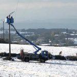 Pour ne pas renouveler  le 14 novembre 2019 : Enedis va enterrer 264 km de lignes électriques dans le Nord-Isère