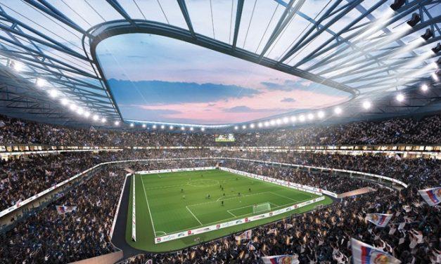 Le stade de l'Olympique Lyonnais à Décines retenu pour les épreuves de foot des JO de 2024