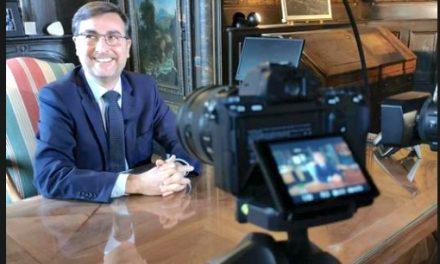"""Pas de vœux en """"présentiel"""", Thierry Kovacs, maire de Vienne, présentera le 31 décembre des vœux vidéo"""