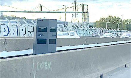 A l'entrée de Lyon, en sortie d'A7, et voilà les radars co-voiturage..!