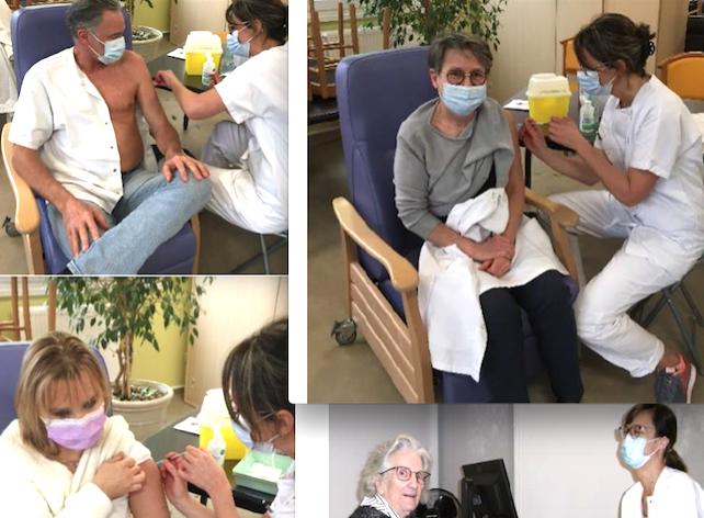 La vaccination a commencé depuis mardi à l'hôpital de Vienne et dès demain vous pourrez vous inscrire vous-même….