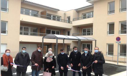 Trente-quatre nouveaux logements HLM inaugurés à Estrablin