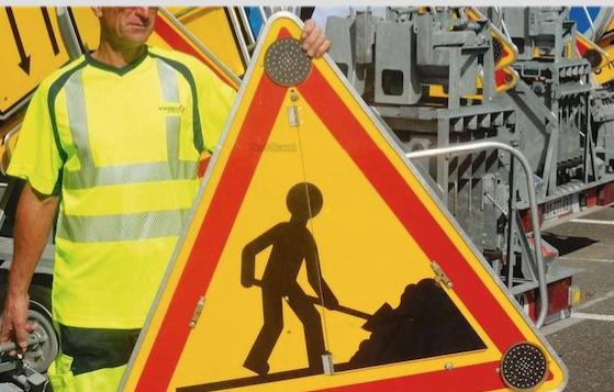 Attention aux travaux, pendant dix semaines, route du Barrage à Reventin-Vaugris