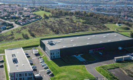Une nouvelle entreprise industrielle vient de s'installer à Chasse-sur-Rhône : Fives Intralogistics, 130 salariés
