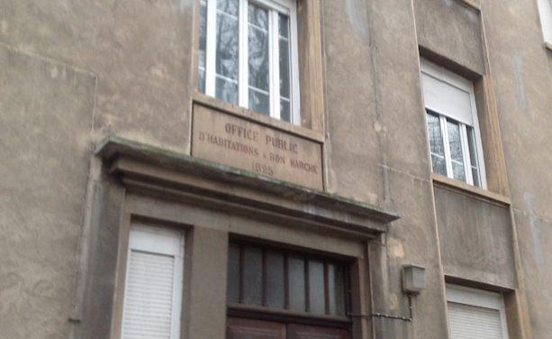 Le plus vieil immeuble HLM de Vienne, avenue du Général Leclerc, va être rasé